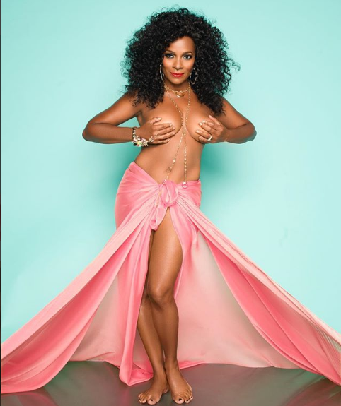 Actress Vanessa Bell Calloway strips down to celebrate 9-Years Breast Cancer free (Photo)