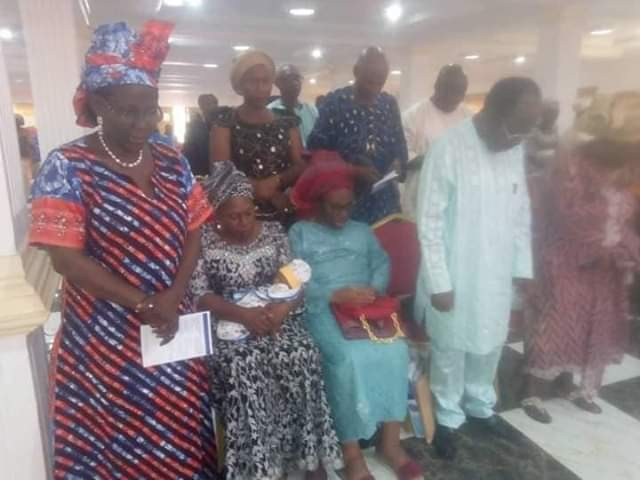 Photos: Woman who became a mother at 67 holds naming ceremony for her son