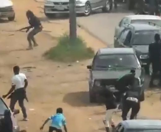 Video from the clash between Nigerian Army officers and Shi