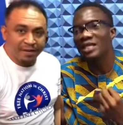 OAP Freeze reacts as RCCG allegedly throws out man from their church after he appeared on his show
