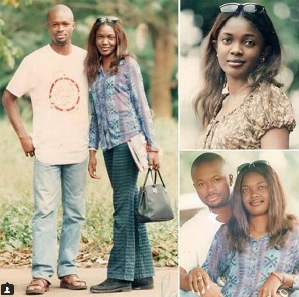 Check out these throwback photos of Omoni Oboli and her hubby Nnamdi