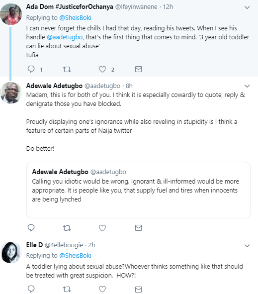 Man asks critics of Sugabelly to apologize and social media users drag the heck out of him after reminding him that he defended the alleged Chrisland school rapist