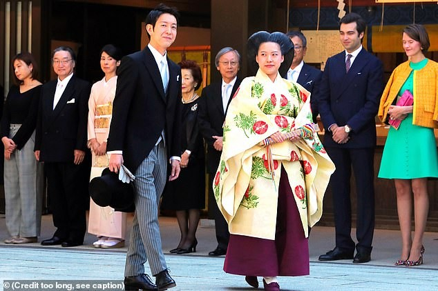 Japanese Princess gives up her royal status to marry a commoner (photos)