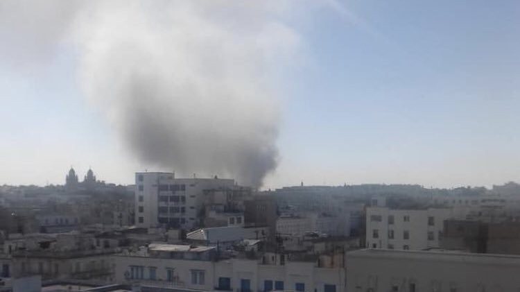 Photos: Female suicide bomber blows herself up in Tunisia, 9 wounded