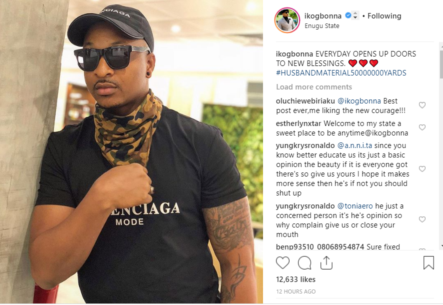'Husband Material' - IK Ogbonna hints at being available again 6