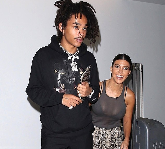 Kourtney Kardashian, 39, and Luka Sabbat, 20, are over
