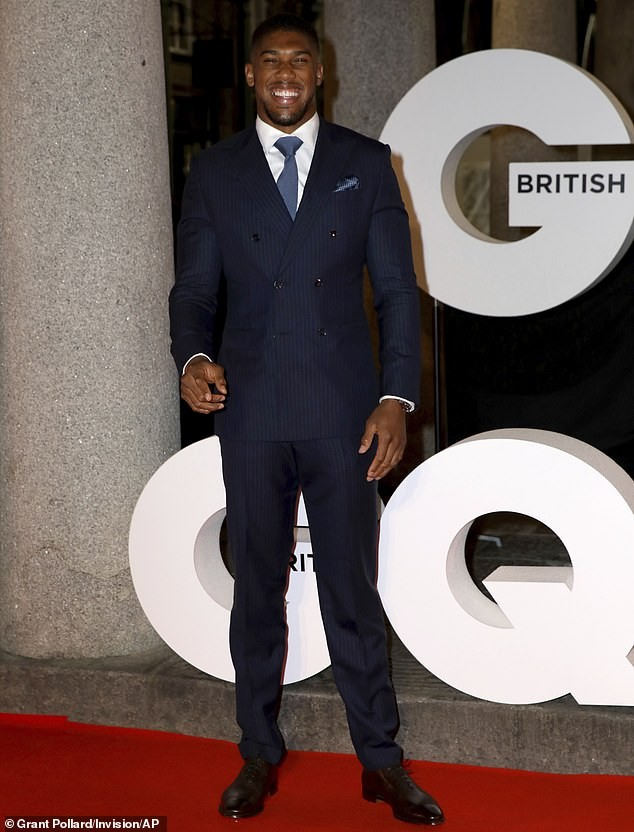 Check out Anthony Joshua