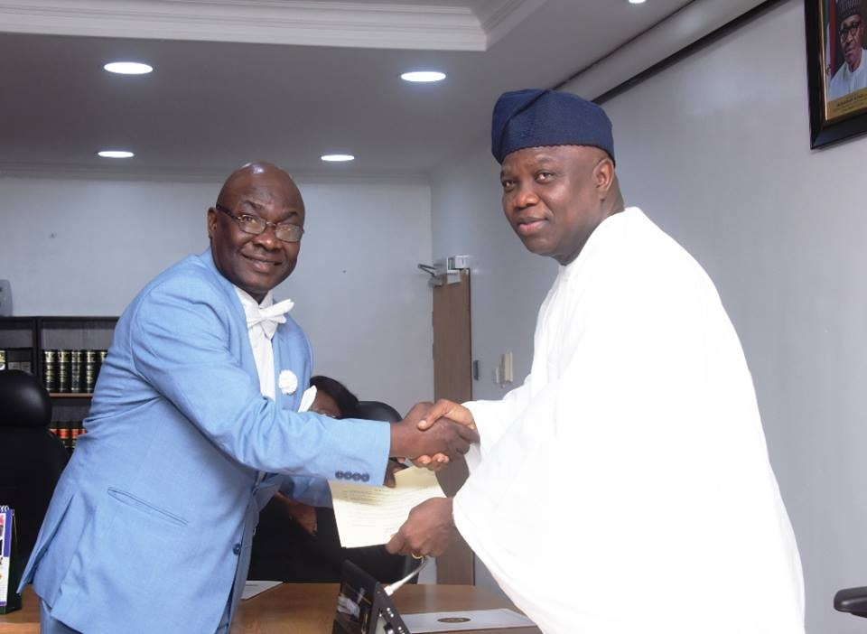 Governor Ambode appoints five new Permanent Secretaries (Photos)