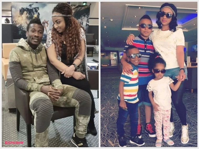 Footballer Asamoah Gyan files for divorce from his wife of 5-years, demands DNA Test to prove he