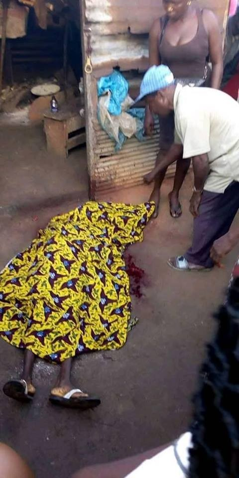 Graphic photo: 60-year-old woman beheaded in Delta state