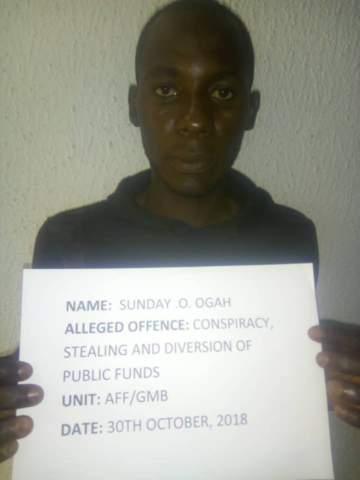Photos: EFCC arrests man for diversion of Mosquito nets