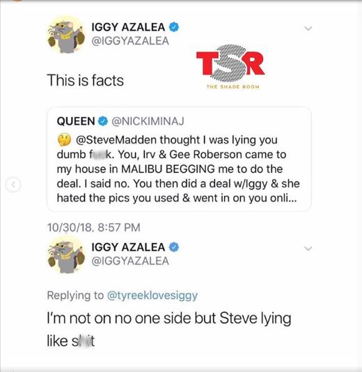 50 Cent calls Steve Madden a