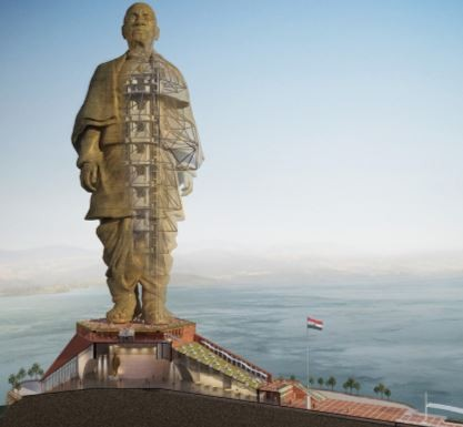 India unveils world's tallest statue, with 250 engineers and 3400 workers (Photos)