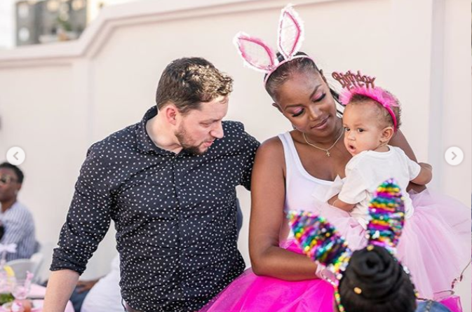 Adorable photos of Yvonne Nelson and her babydaddy at their daughter?s first birthday party