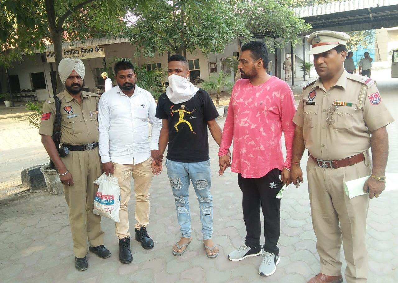 Photo: Nigerian man arrested with 900 grams heroin in India