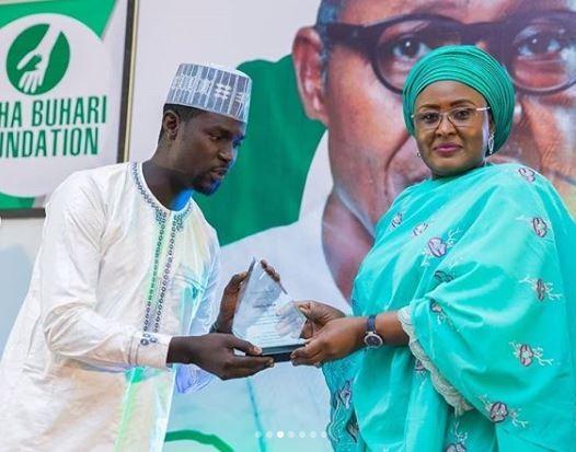 Aisha Buhari hosts artistes supporting President?Buhari (Photos)