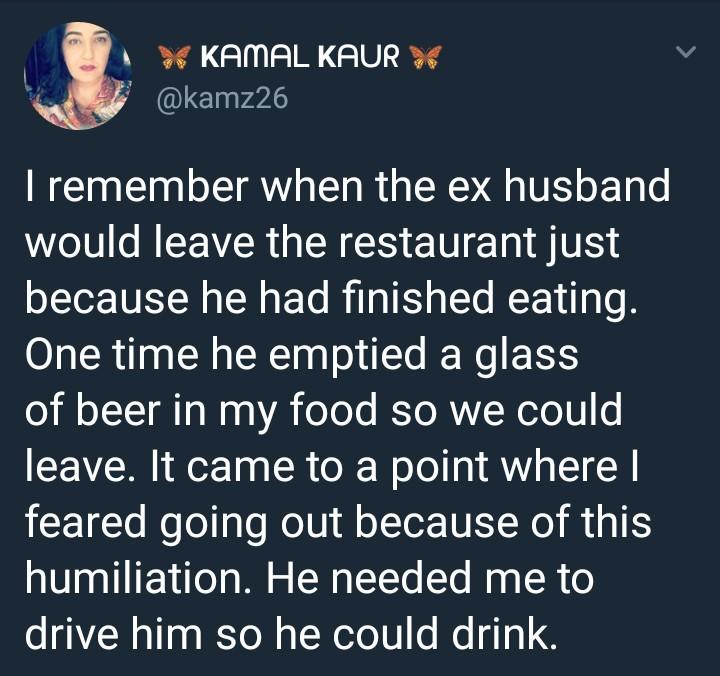 A male Twitter user