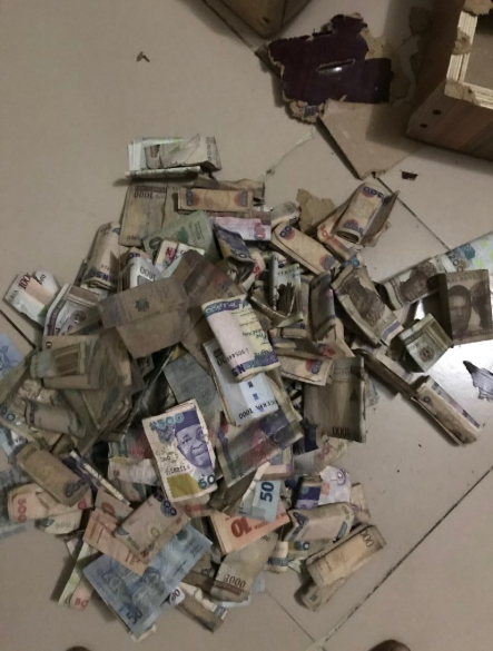 Check out how much a man found in his wooden piggy bank after saving for 10 months
