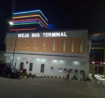 Commuter claims the Ikeja Bus Terminal commissioned by Buhari earlier this year is being dismantled