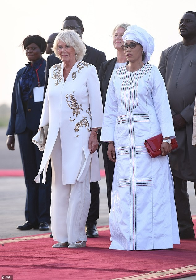 Prince Charles and Camilla receive warm welcome as they arrive The Gambia to begin tour of Gambia, Ghana, and Nigeria