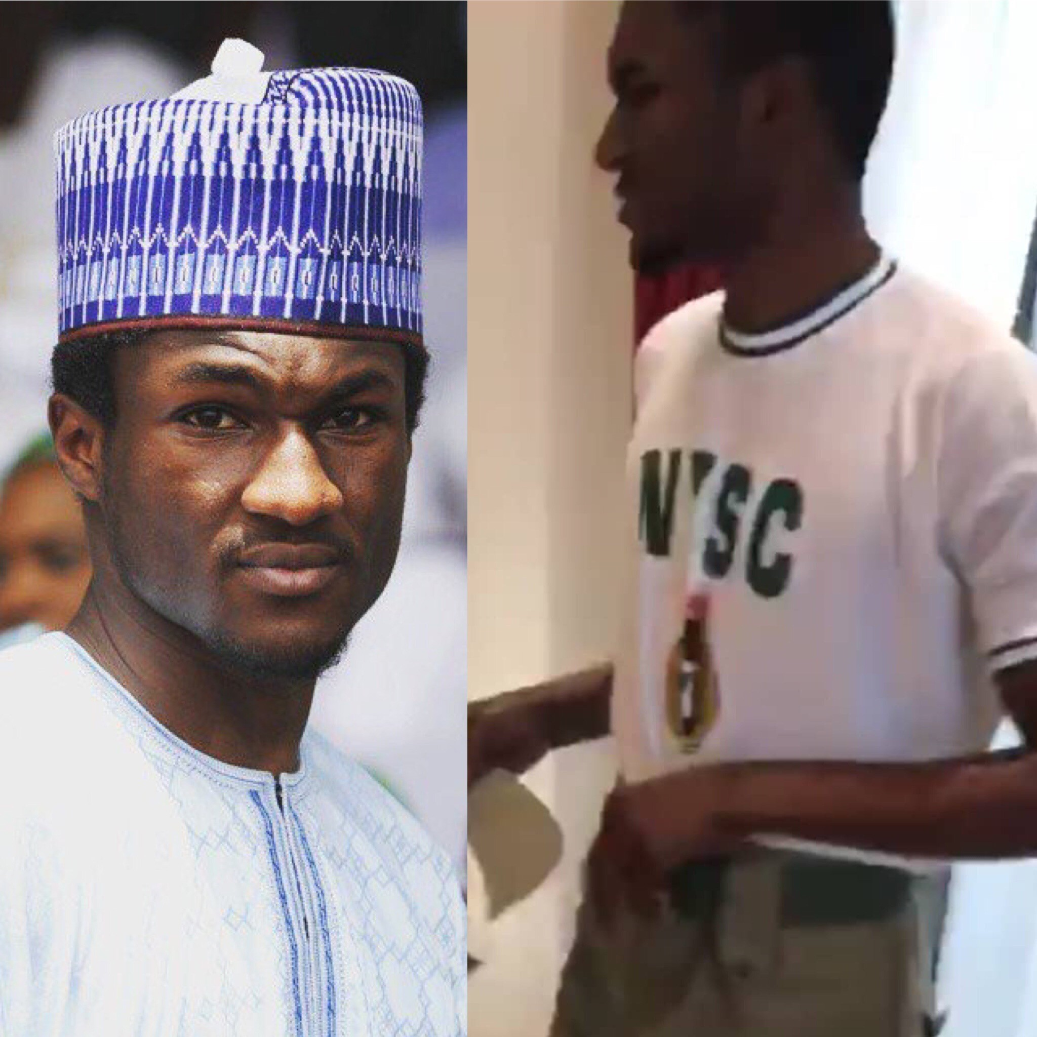 President Buhari?s son Yusuf undergoes NYSC in Abuja (photos)