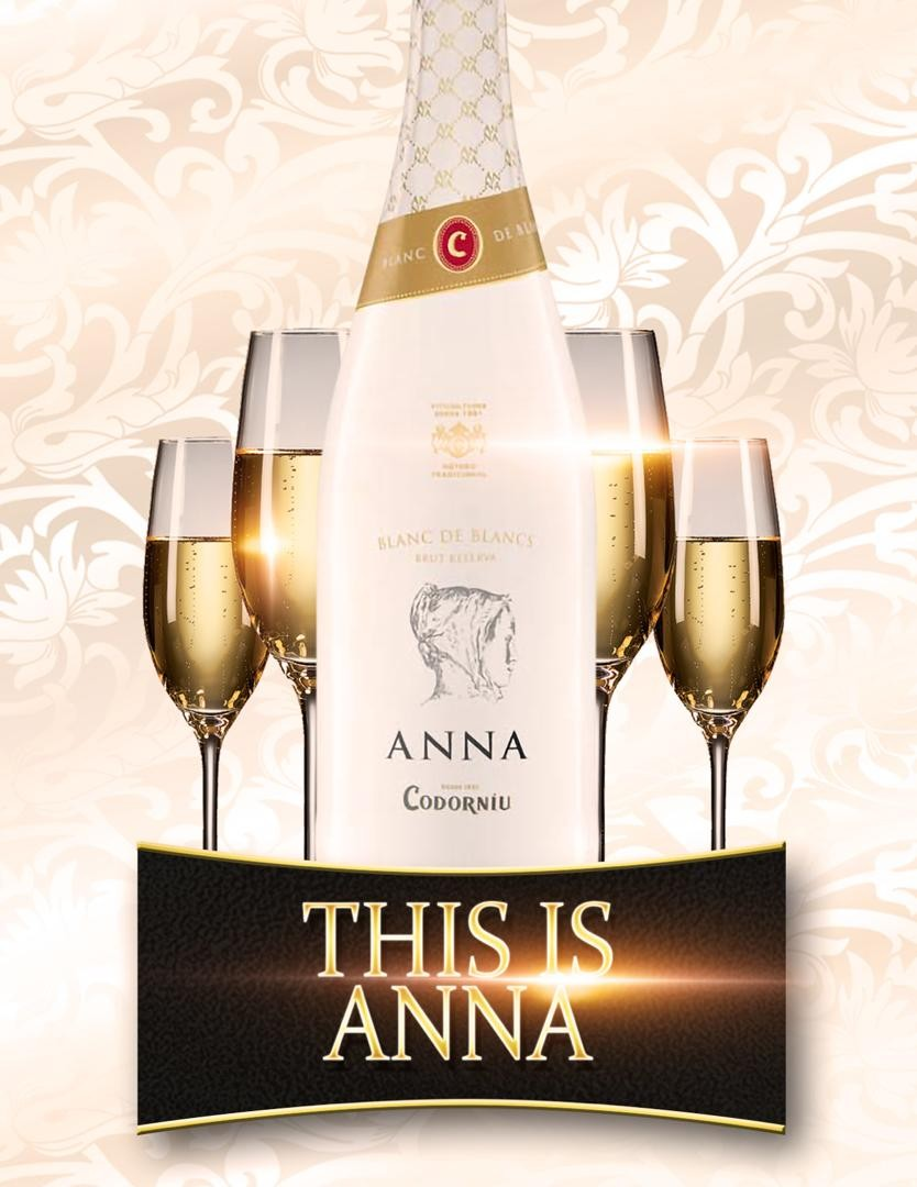 This is ANNA, the latest Champagne in town! ANNA is Spain?s best selling Champagne.