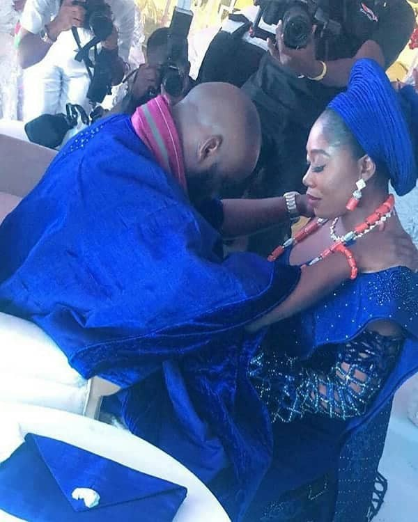 First photos/videos from the wedding of OAP Gbemi Olateru-Olagbegi to Falz