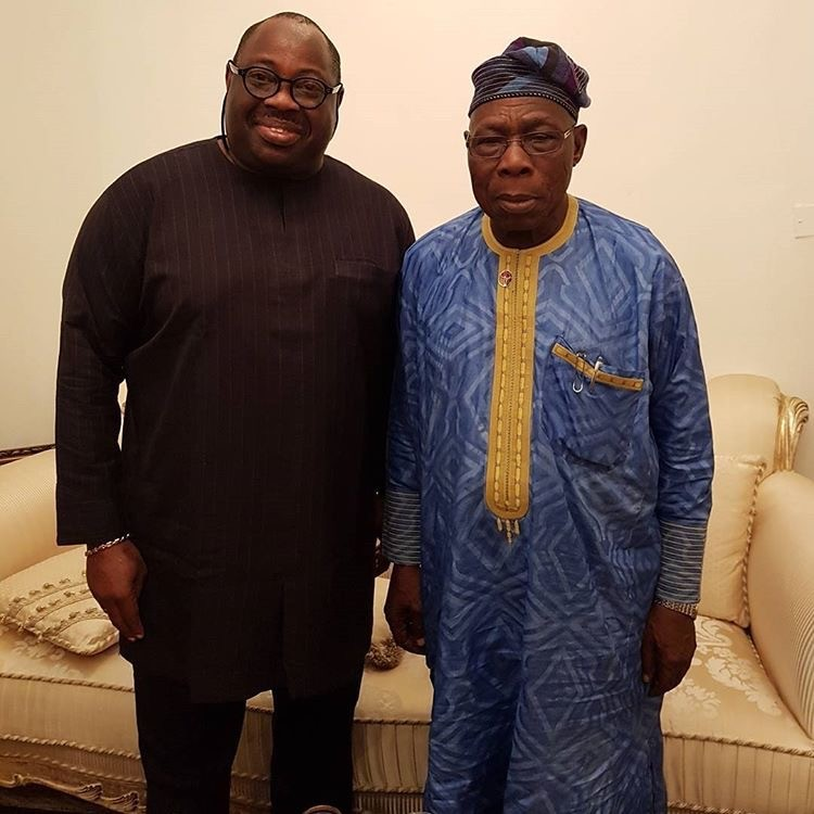 """General Olusegun Obasanjo remains the most visible and voluble member of the Nigerian Mafia"" - Dele Momodu"