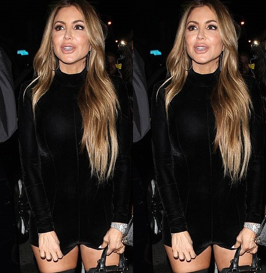 Larsa Pippen attends Diddy 49th birthday in figure-hugging bodysuit as she