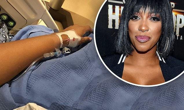 Reality star Porsha Williams hospitalized for