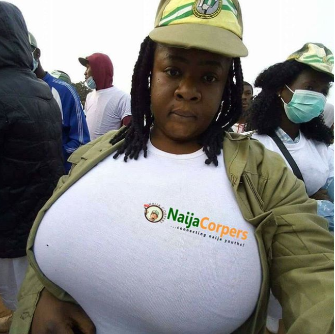 This female corp member