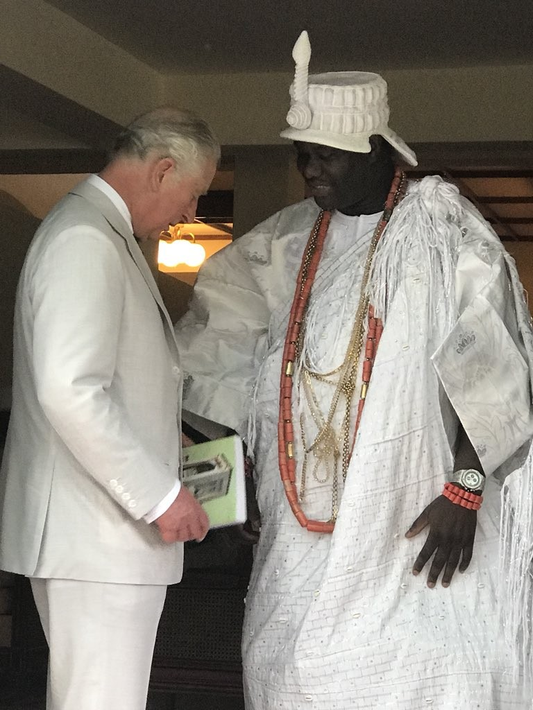 Photos: President Buhari receives Prince Charles, his wife Camilla at the state house