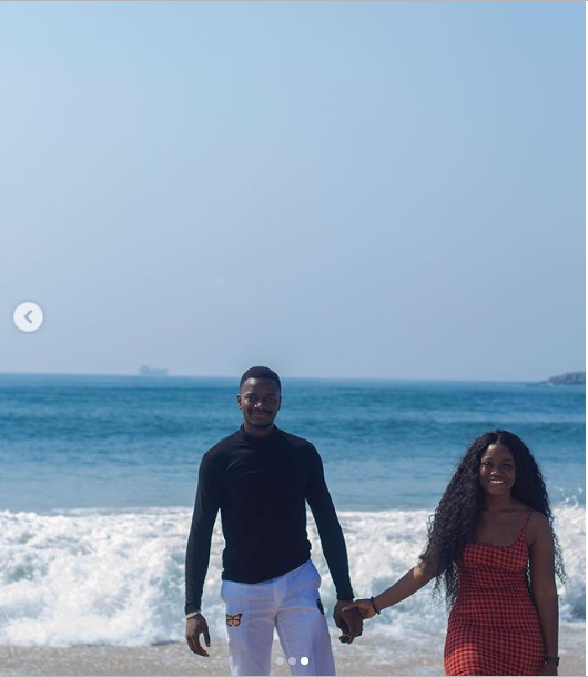 See more loved-up photos of Leo Dasilva and his boo Cee-C at her surprise birthday breakfast at the beach