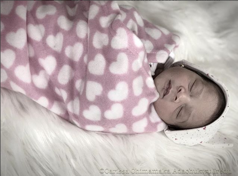 MBGN 2010, Afoma Fiona-Iredu welcomes her second child, a girl