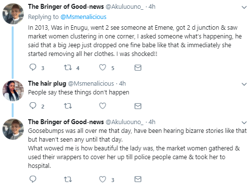Twitter users make shocking revelations as to why there is an increase in the number of mad beautiful girls in Abuja
