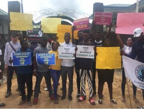 Angry protesters seal off NDDC office with charms over