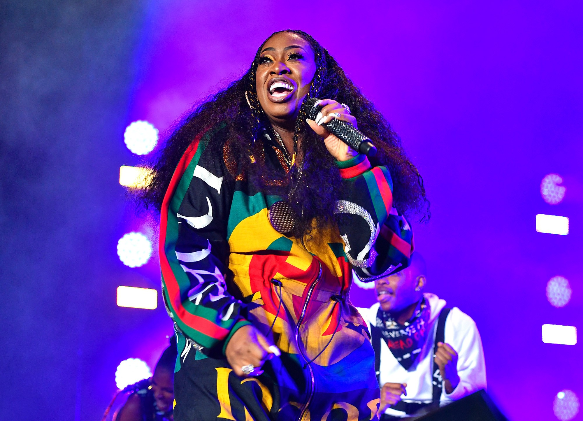 Missy Elliott becomes the first female rapper nominated for the songwriters