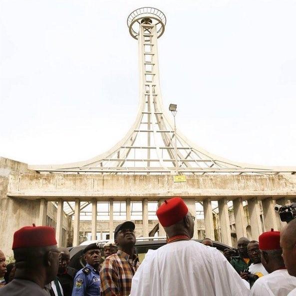 Photos: FG completes Nnamdi Azikiwe Mausoleum in Onitsha