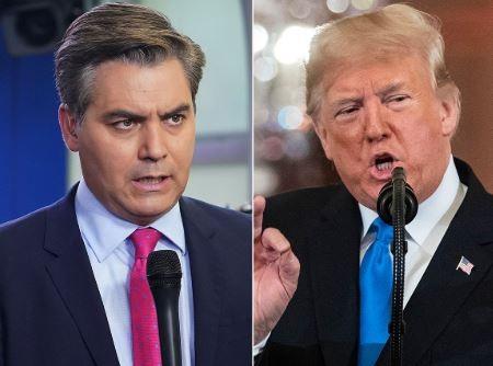 White House revokes the press pass of CNN