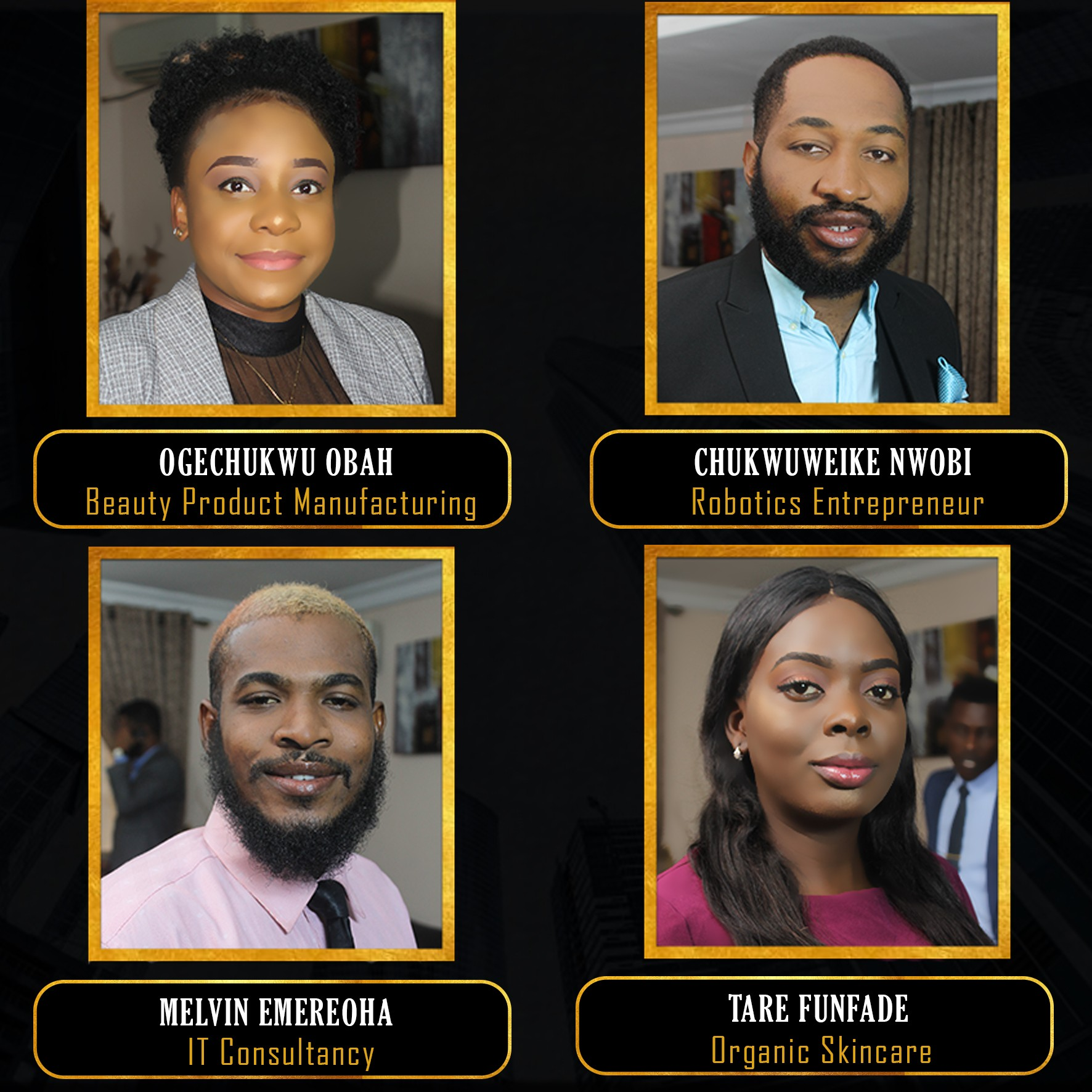 Meet Top 10 Entrepreneurs of The Next Titan Nigeria 5.0