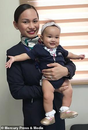 Air hostess breastfeeds stranger