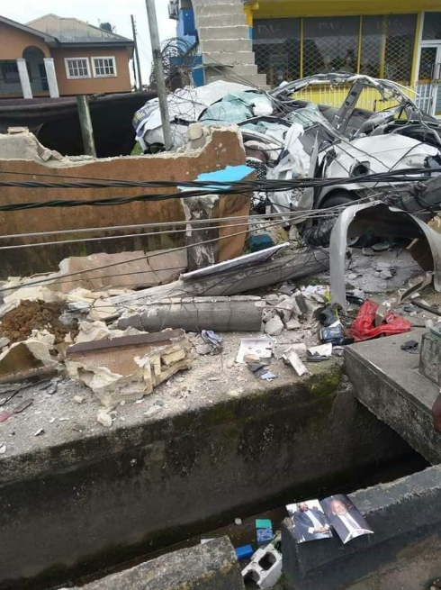 Two killed, several injured in fatal accident in a Port Harcourt car wash (graphic photos)