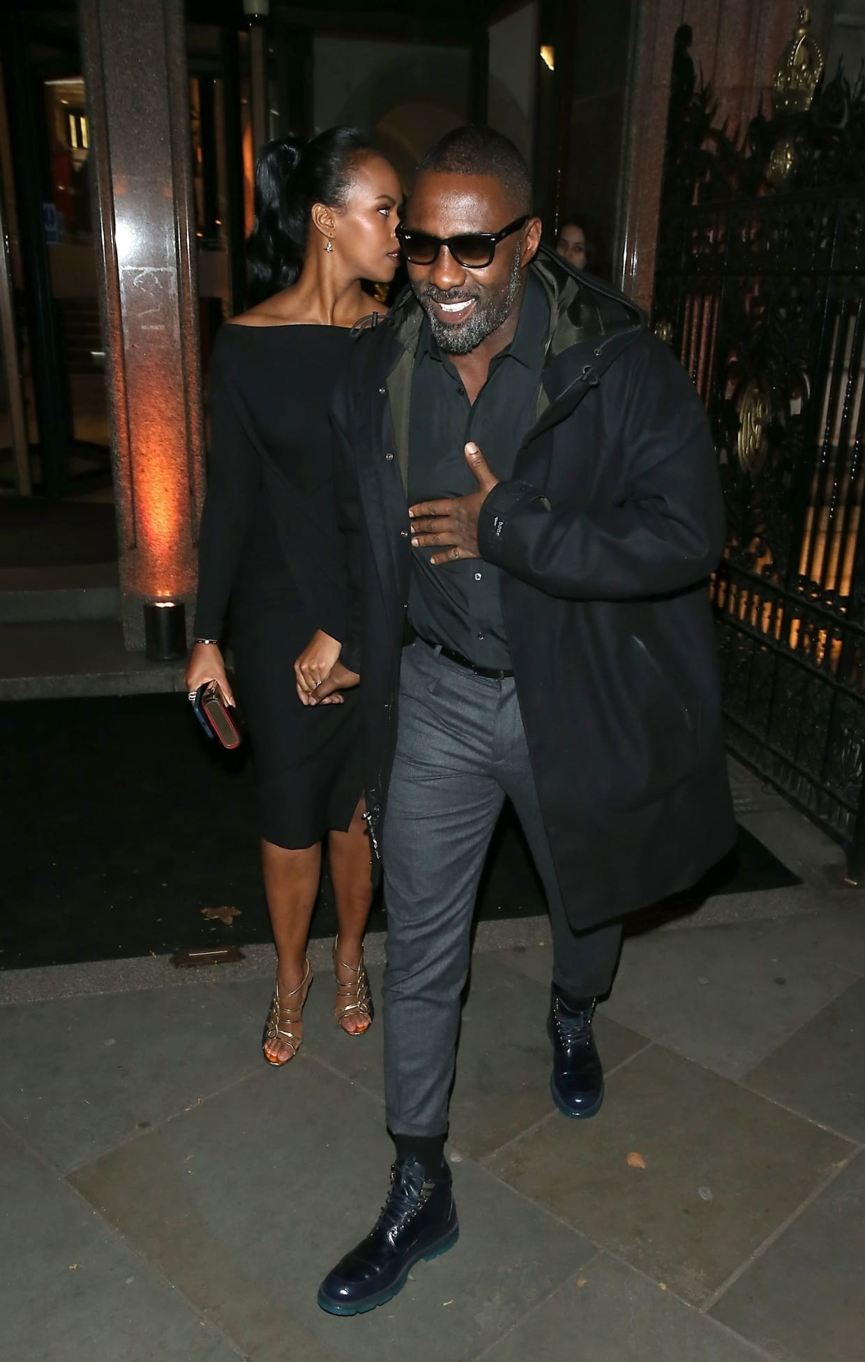 Idris Elba and his gorgeous fiancee, Sabrina Dhowre, step out