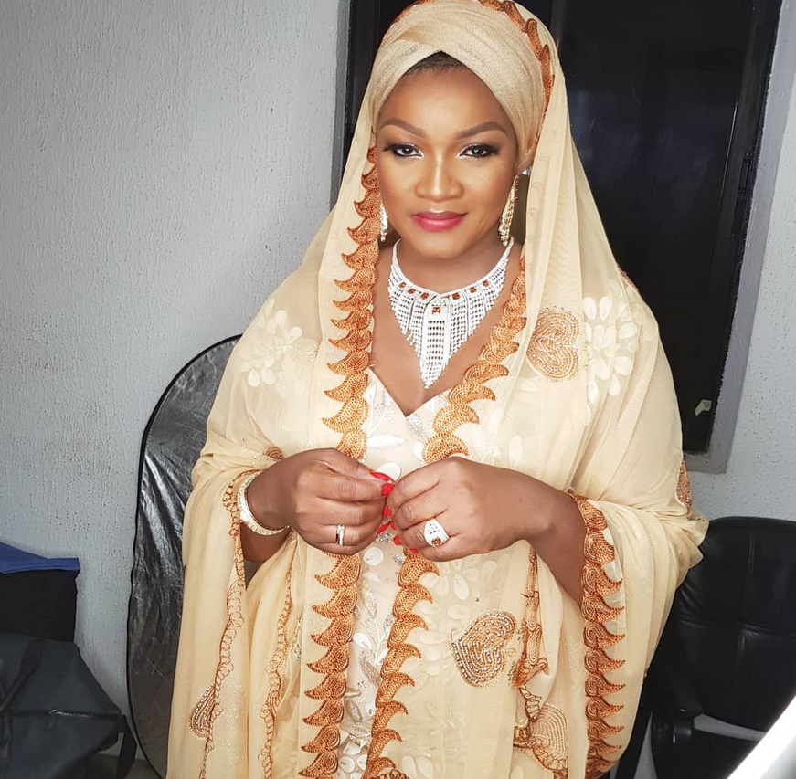 Omotola Jalade-Ekeinde reveals she was born a muslim, preaches religious tolerance