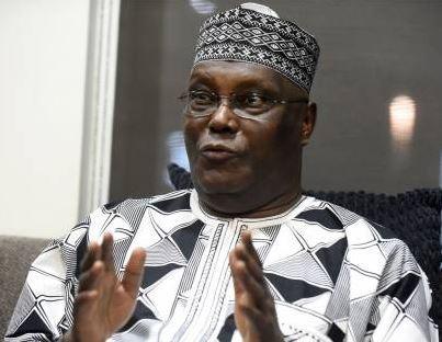 Atiku cries out after?Army, Police, Custom and?Immigration officers ?search his plane as he returns to Nigeria