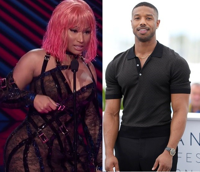Nicki Minaj shoots her shot at Michael B Jordan while accepting award on stage, says