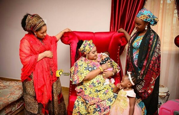 Photos: 86-year-old Emir of Daura welcome second child with his young wife