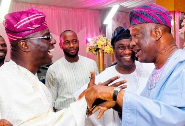 Image result for See what happens when APC Sanwo-Olu Meets PDP rival, Jimi Agbaje.