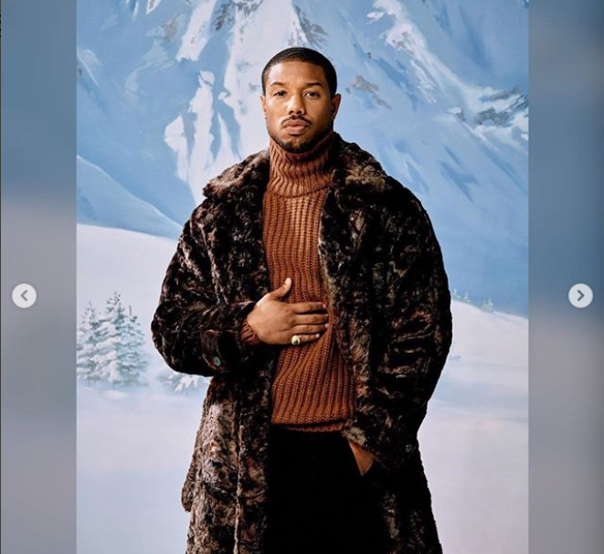 'Black Panther' star Michael B. Jordan is named one of GQ's 2018 Men of the Year (Photos) 21