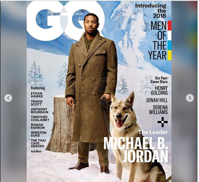 'Black Panther' star Michael B. Jordan is named one of GQ's 2018 Men of the Year (Photos) 24